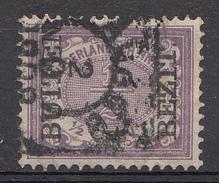 Indes Néerlandaises 1906 Nvph.nr.: 81 BUITEN BEZIT Koningin Wilhelmina Oblitérés /Used / Gestempeld - Niederländisch-Indien