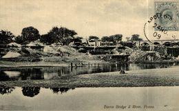 1909   . Harris Bridge & River, Poona -- India    INDE / INDIA - Inde