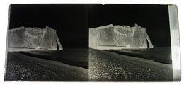Etretat Rouen Normandie Plaques De Verre Stéréoscopiques 6X12,5cm Env - Négatif De Photos Anciennes Bien Lire Descriptif - Glass Slides