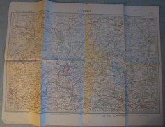 Carte S.G.A. N° 2 Bis : ANVERS (Belgique) + Pays-Bas Sud (BREDA / EINDHOVEN) - 1 / 200 000ème. - Topographical Maps