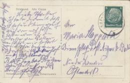 Germany 1938 Picture Postcard Stralsund With Cancel KdF Sellin Rügen (Kraft Durch Freude Nazi After-work Organization) - Sonstige