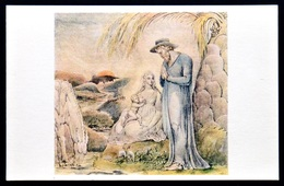740114 William BLAKE ~ Flight Into Egypt ~ Mother And Child ~ Maternity BREASTFEEDING Motherhood ~ Art Painting Postcard - Vierge Marie & Madones