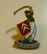 PIN * Golf * Rhone-Alpes-Auvergne * Charly Pin's - Pin's