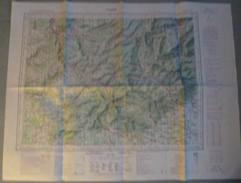 Carte I.G.N. : THANN - 1/100 000ème - 1927/53-1958. - Topographical Maps