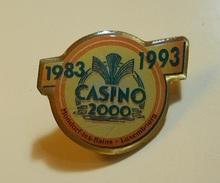 PIN * Casino 2000 * Mondorf-les-Bains * Luxembourg * Blue Planet - Badges