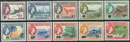 British Virgin Isl. 1962. Michel #124/33 VF/MLH. QEII. (Ts15) - British Virgin Islands