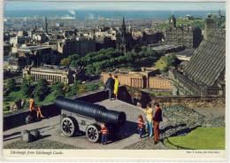 EDINBURGH  VIEW FROM THE CASTLE  OHN HINDE POSTCARD - Midlothian/ Edinburgh