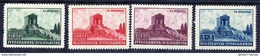 YUGOSLAVIA 1939 Death Anniversary Of King Alexander Set LHM / *.  Michel 389-92 - Unused Stamps