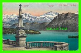 LUZERN, SUISSE - AM QUAI - EDITION PHOTOGLOB - - LU Lucerne