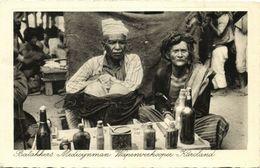 Indonesia, SUMATRA, Batak Medicine Man Gun Seller From Karoland (1920s) Postcard - Indonesia