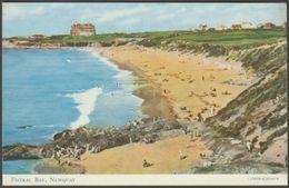 Fistral Bay, Newquay, Cornwall, C.1960s - Salmon Postcard - Newquay