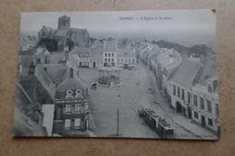 CASSEL - L'église Et La Place ( 59 Nord ) - Cassel