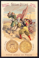 CHROMO Chocolat POULAIN   HISTOIRES MONNAIES  France Valois   Louis XII Money - Poulain