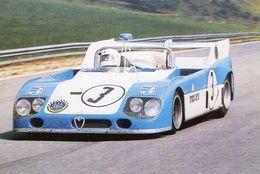 24 Heures Du Mans 1973 - Alfa Romeo T33/3 - Scuderia Brescia Corse - Pilote: Carlo Facetti - CPM - Le Mans