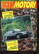 X SICILIA MOTORI 10/1990 TARGA FLORIO AUTOSTORICHE RALLY PROSERPINA VAL D'ANAPO - Motori