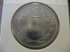 5 Lira 1979 TURKEY Turquie Good Condition Horse Coin - Turquia