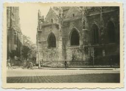 Guerre De 1939-45 . Eglise Saint-Michel De Bordeaux Après Le Bombardement Du 21 Juin 1940 . - Guerra, Militares