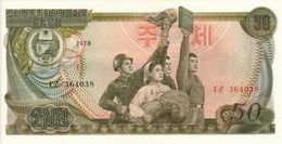KHOREA NORTH 50 WON 1978 PICK 21a UNC - Korea, North