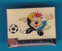 52714-Pin's.football.Photo.Fujifilm.signé 1998 UEFA.. - Photography