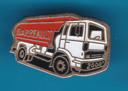 52720-Pin's.Tranports Barrault Châteauroux Transport Routier .. - Transportation