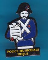 52729-Pin's.Police Municipale De Frejus.. - Police