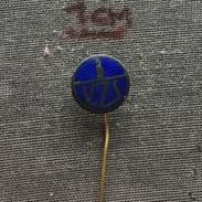 Badge (Pin) ZN006288 - Bowling KZS Yugoslavia Slovenia Federation /Association / Union - Bowling