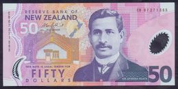 New Zealand 50 Dollars 2007 UNC P-188 Polymer - Nouvelle-Zélande