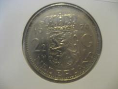 2 1/2 G 1970 NETHERLANDS Pays Bas Coin - 1948-1980 : Juliana