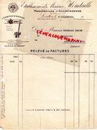 92- LEVALLOIS-PERRET- FACTURE ETS. MAURICE HOUDAILLE- MANUFACTURE AMORTISSEURS-AUTOMOBILE- AUTO- 1931 - Cars