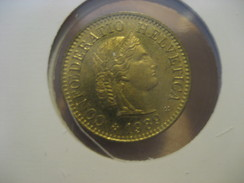 5 1989 SWITZERLAND Suisse Coin - Switzerland