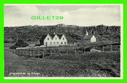 ICELAND - PINGVALLABAER OG KIRKJAN - MEO EINKARÉTTI, HELGI ARNASON - - Islande