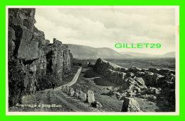 ICELAND - ALMANNAGJA A PINGVOLLUM - MEO EINKARÉTTI, HELGI ARNASON - - Islande