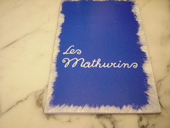 THEATRE LES MATHURINS HUIT CLOS DEDICACE - Programmes