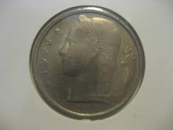 5 Fr 1976 BELGIUM Belgique Coin - 1951-1993: Baudouin I