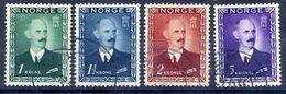 NORWAY 1946 King Haakon VII Definitive Kroner Values, Used.  SG380-83, Michel 315-18 - Norway
