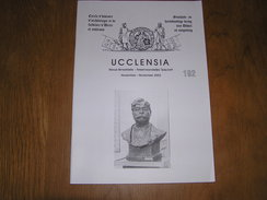 UCCLENSIA Revue N° 192 Régionalisme Brabant Uccle Rhode C Lemonnier Neckersgat Agde De Hel 1940 Florine Hélicoptère - Bélgica