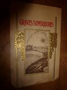 1920 ? Spécimen étiquette De Vin De GRAVES SUPÉRIEURES ,  N° 20H  ,déposé, Imp. G.Jouneau  3 Rue Papin à Paris - Castles