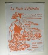6380 - Vully La Rosée D'Hybrides René Hurrni Bellerive Suisse - Etiquettes