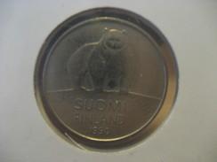 50 P 1990 Bear FINLAND Finlande Coin - Finland