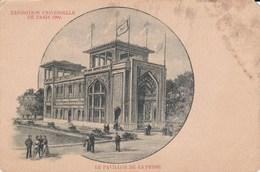 Exposition De 1900 Le Pavillon De La Perse - Expositions