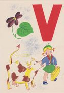 Carte Postale       BARRE  DAYEZ   Alphabet    1460 - Cartes Postales