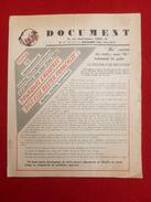 DOCUMENT POURQUOI L ALGERIE DOIT RESTER FRANCAISE 1956 CARTE 54 X 45 - Carte Geographique