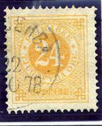 SWEDEN 1878 24 öre Perforated 13, Fine Used.  Michel 23B, SG 23ba - Sweden
