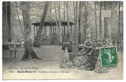 SAINT DIZIER - La Marina Fontaine Et Kiosque - Saint Dizier
