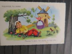 TI - Carte Illustrateur  - Conte Fable  -  MEUNIER TU DORS - Contemporary (from 1950)