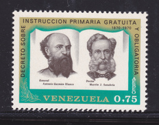 VENEZUELA AERIENS N°  992 ** MNH Neuf Sans Charnière, TB (D4147) Général A.G. Blanco, M.J. Sanabria - Venezuela