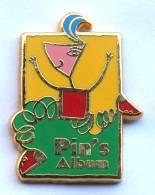 Pin's PIN'S ALBUM - Personnage Abstrait - Zamac - Arthus Bertrand - G1129 - Arthus Bertrand