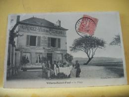 AGR 2961 CPA 1908 - 60 VILLERS SAINT PAUL - LA PLAGE  - AU RENDEZ VOUS DES PECHEURS  (+ DE 20000 CARTES DE MOINS 1€ - Hotels & Restaurants