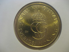 5 Kr 2016 SWEDEN Suede Good Condition Coin - Suède