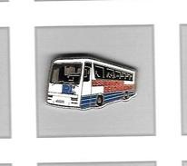 Pin's  Bus  Renault ?  Transports  R L  LES  RAPIDES  DE  LORRAINE - Transportation